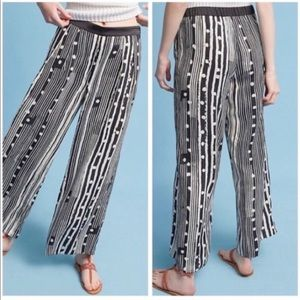 Elevenses black and white Ines Pants size Medium
